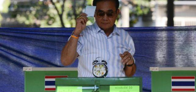 กระแสการเลือกตั้งของการเมืองไทย 2562